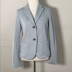 Gap blue striped blazer